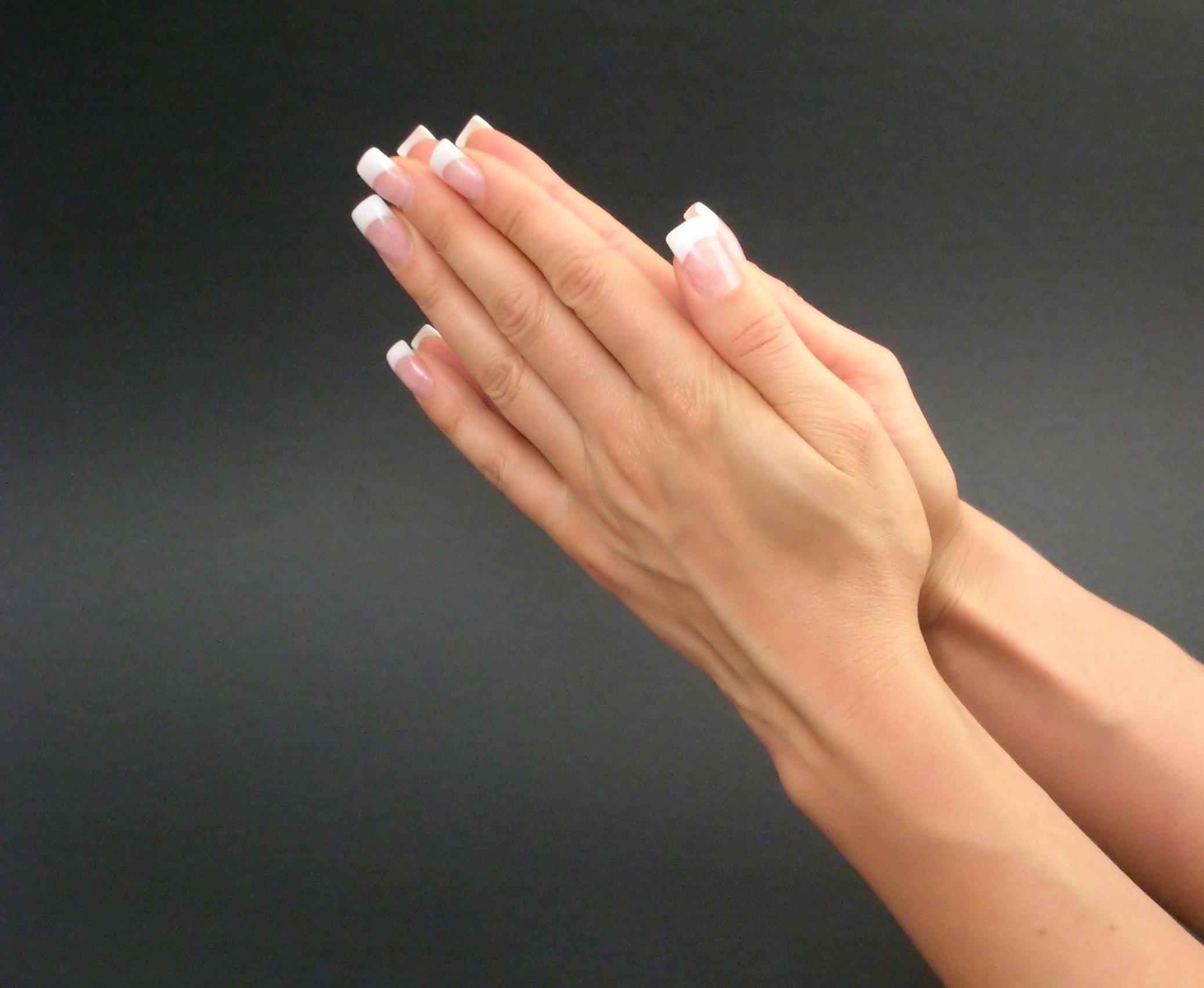 Как сделать красивые пальцы